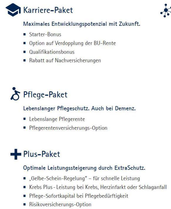 Continentale Premium BU Zusatzpakte